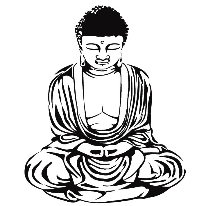 coloriage de bouddha