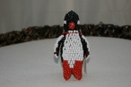 Beaded Penguin Hand
